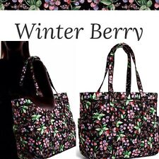 Vera Bradley Get Carried Away Travel Tote Winter Berry
