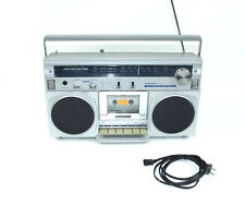 Toshiba Rt-100S Stereo Boombox Radio Cassette Recorder Vintage Ghetto Blaster