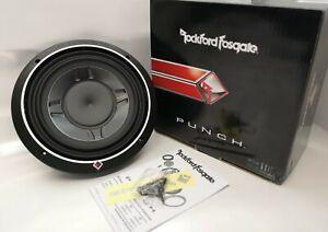 "Rockford Fosgate P3SD2-10 Car 10"" Punch 600W DVC Shallow Subwoofer OPEN-BOX#"