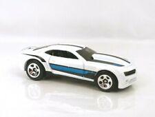 "LOOSE Hot Wheels 2013 ""Hot Wheels"" COPO Camaro White Blue Clean"