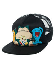 OFFICIAL POKEMON - SNORLAX, PSYDUCK, TOGEPI AND WOBBUFFET SNAPBACK CAP (NEW)