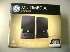 NICE HP MULTIMEDIA SPEAKERS FOR A COMPUTER