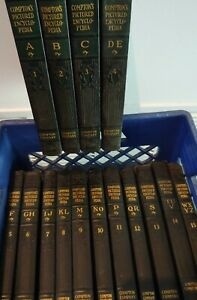 RARE VINTAGE COMPTONS PICTURED ENCYCLOPEDIA - COPYRIGHT 1933 - GREAT CONDITION