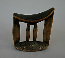 ANTIQUE AFRICAN HEADREST ETHIOPIA WALLAITA ARUSSI - PRIVATE FRENCH COLLECTION