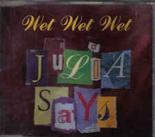 Wet Wet Wet-Julia Says cd maxi single