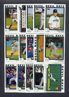 2004 Topps Tampa Bay Devil Rays TEAM SET (25) w/ Traded