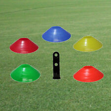 100 DISC CONES for Sports Drills Training- ASSORTED COLORS
