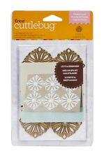 Cuttlebug A2 Cut & Embossing Folder FLOWER LAYER Metal Die By Anna Griffin
