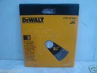 DEWALT DT3760 115MM ANGLE GRINDER DIAMOND CUTTING DISC No3