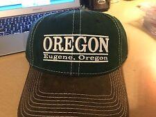 OREGON DUCKS HAT CAP NEW 3 BAR THE GAME NCAA