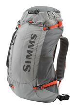 NEW W/TAG Simms Waypoints Backpack  Bag For Fly Fishing -- Small -Gunmetal