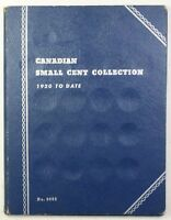 1920-1961 Empty Whitman Canadian Small Cents Collection Folder No.9062