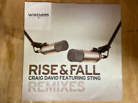 "Craig David Featuring Sting - Rise & Fall (Remixes) (12"" Vinyl)"