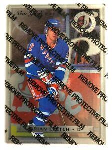 1996-97 Leaf Preferred Steel Brian Leetch #23