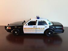 Madisonville Tennessee Police Department diecast car Motormax 1:24 scale