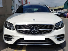 Mercedes W213 E Class Sport Diamond Style grill grille Black 2016 Models onwards