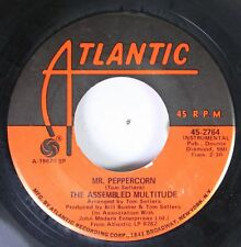 Rock 45 The Assembled Multitude - Woodstock / Mr. Peppercorn On Atlantic