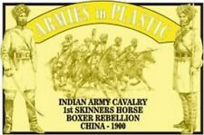 Armies in Plastic - Boxer Rebellion Indian Army Cavalry 1st Skinners Horse 54mm