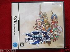 Heroes of Mana (Nintendo DS, 2007) JAPANESE JRPG Square Enix Final Fantasy RPG