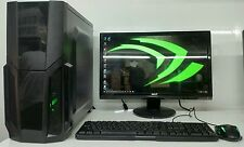 SUPER FAST GAMING COMPUTER PC INTEL QUADCORE @2.50GHz 500GB 4GB RAM 2GB 710 HDMI