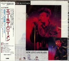 New Live and Rare [EP] by Echo & the Bunnymen (CD, 1988, WEA Records)