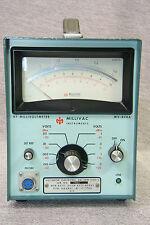 millivac mv-828a rf hf millivoltmeter mit probe