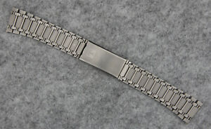 Original TISSOT Two-Timer Stainless Steel Bracelet - Stretch Clasp - Swiss Made