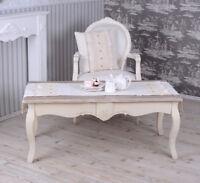 Beistelltisch Antik Couchtisch Landhausstil Tisch Shabby Chic Teetisch Holz neu