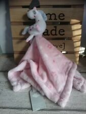 Doudou licorne blanche bleu rose étoiles primark neuf