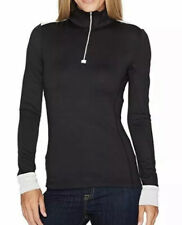 Obermeyer Women's Nari 1/4 Zip Top in Black 10214 Size S