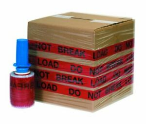 "Aviditi 5"" x 500' Goodwrappers Printed Identi-Wrap ""DO NOT BREAK LOAD"" 80 Gau..."