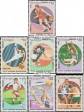 Nicaragua 2853-2859 (complète edition) neuf avec gomme originale 1988 Jeux Olymp