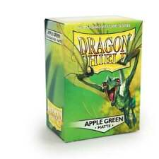 DRAGON SHIELD Matte Apple Green Sleeves (100) MTG / POKEMON / WOW