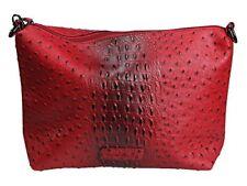 Mischmasch Damen Tasche Umhängetasche Elie - dark red - rot schwarz strukturiert
