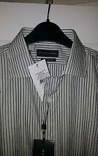 Camisa de Polo Ralph Lauren, negro etiqueta 15 1/2 Collar Bnwt