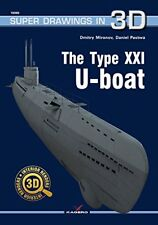 Kagero Super Drawings in 3D 60: The Type XXI U-Boat