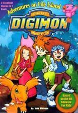 John Whitman / Adventures on File Island Digimon Digital Monsters #1 Juv Fiction