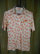 Vintage 60's 70's Hooper Bowling Poly Shirt Worn by Wpba Loa Boxberger
