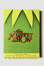The Muppet Show Season 1 on DVD 24 Episodes Original Pitch Reel Gag Reel Bonuses