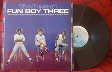"FUN BOY THREE ""The Best Of"" RARE 1984 SPAIN LP **Bananarama **DAVID BYRNE"