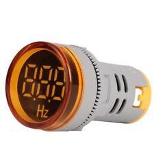Round Digital Led Ac Frequency Panel Meter Hertz Hz