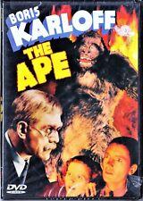 Karloff: THE APE (NTSC Region 1, en inglés) Tarifa plana en envío dvd España 5 €