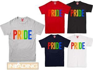 Love wins T shirt LGBT Gay Lesbian Heart Pride Rainbow Mens Womens T-Shirt