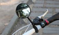 Sécurité de rétroviseur de vue arrière flexible guidon de bicyclette de vélo ZH
