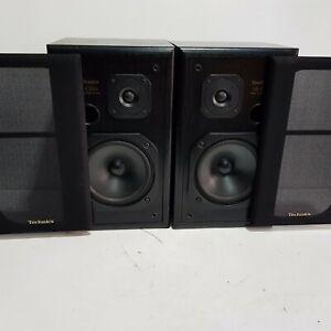Technics SB-CS50 2 Way Hifi Stereo Bookshelf Speaker + Covers Rare