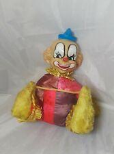 Vintage Ideal Toy Corp Musical Clown Rare Circa 1950