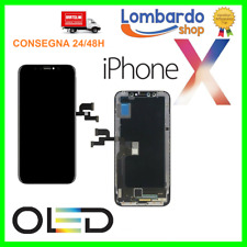 DISPLAY SCHERMO PER APPLE IPHONE X ORIGINALE OLED TOUCH SCREEN FRAME LCD