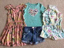 Girls Summer Bundle 8-9 years Next dress, River Island playsuit & fat face Short