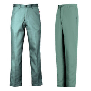Bulwark / Reed FR Pants Flame Resistant Clothes Visual Green Work Uniform