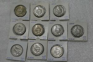 10 REALES - 10 COINS COLLECTION B38 CM5-3